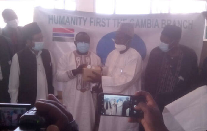 The Gambia: Humanity First Provides Medical Aid